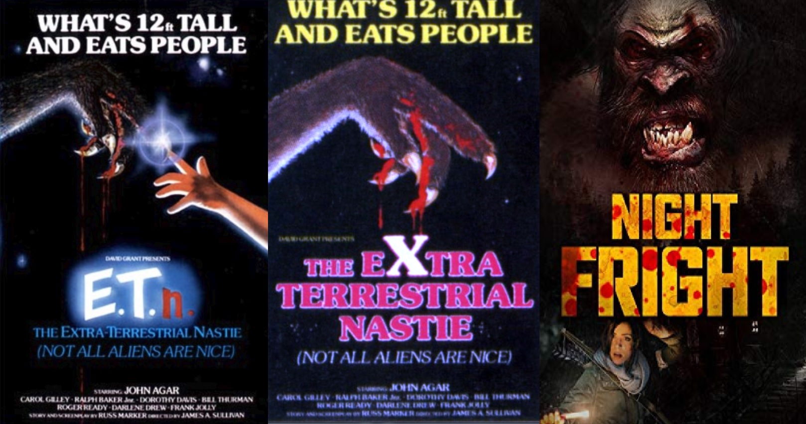 Night Fright VHS 2