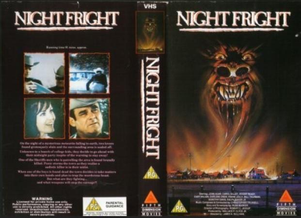 Night Fright VHS