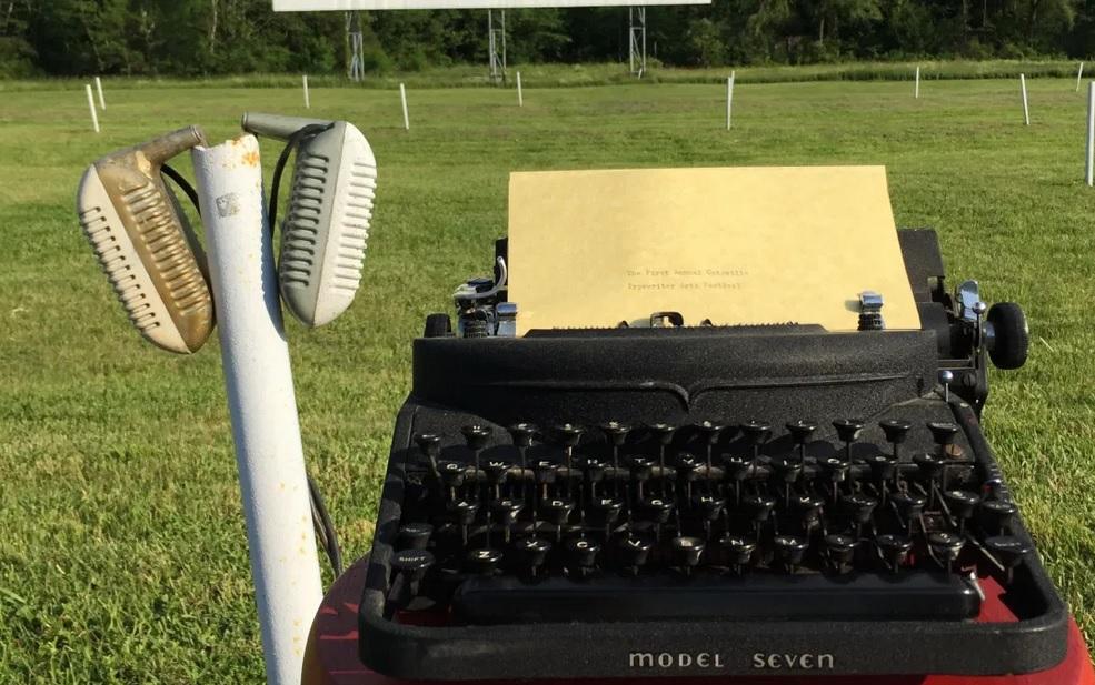 Drive-In Typewriter